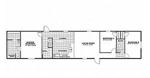 Clayton Equalizer 16X76 Floor Plan 2 Floor Plans