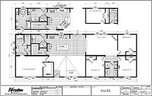 Karsten Big Tex 27X76 Floor Plan 3 Floor Plans