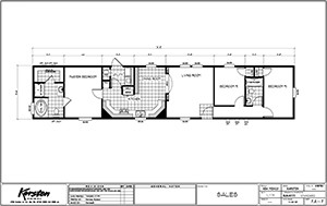 Karsten K1676H Floor Plan 2 Floor Plans