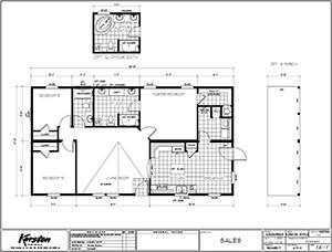 Karsten KS2750A Floor Plan 1 2 Floor Plans