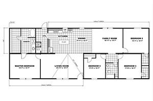 TRU Steal II 28X72 Floor Plan 3 Floor Plans