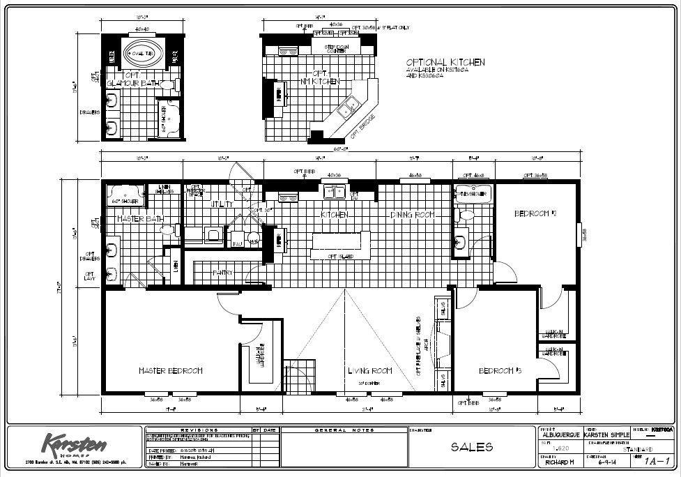 k2760A Floor Plans