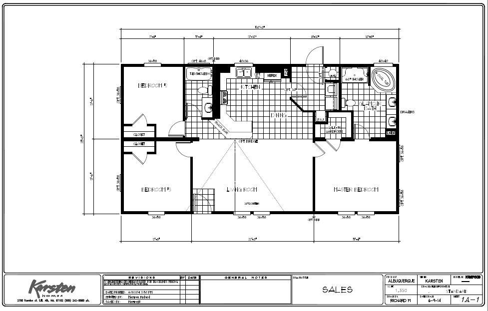 k2760b Floor Plans