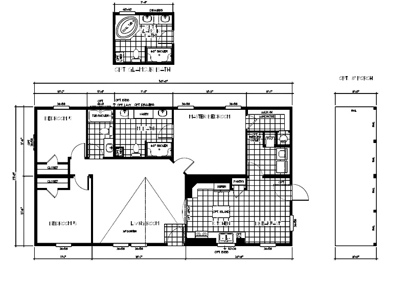 karstenA In Stock Floor Plans